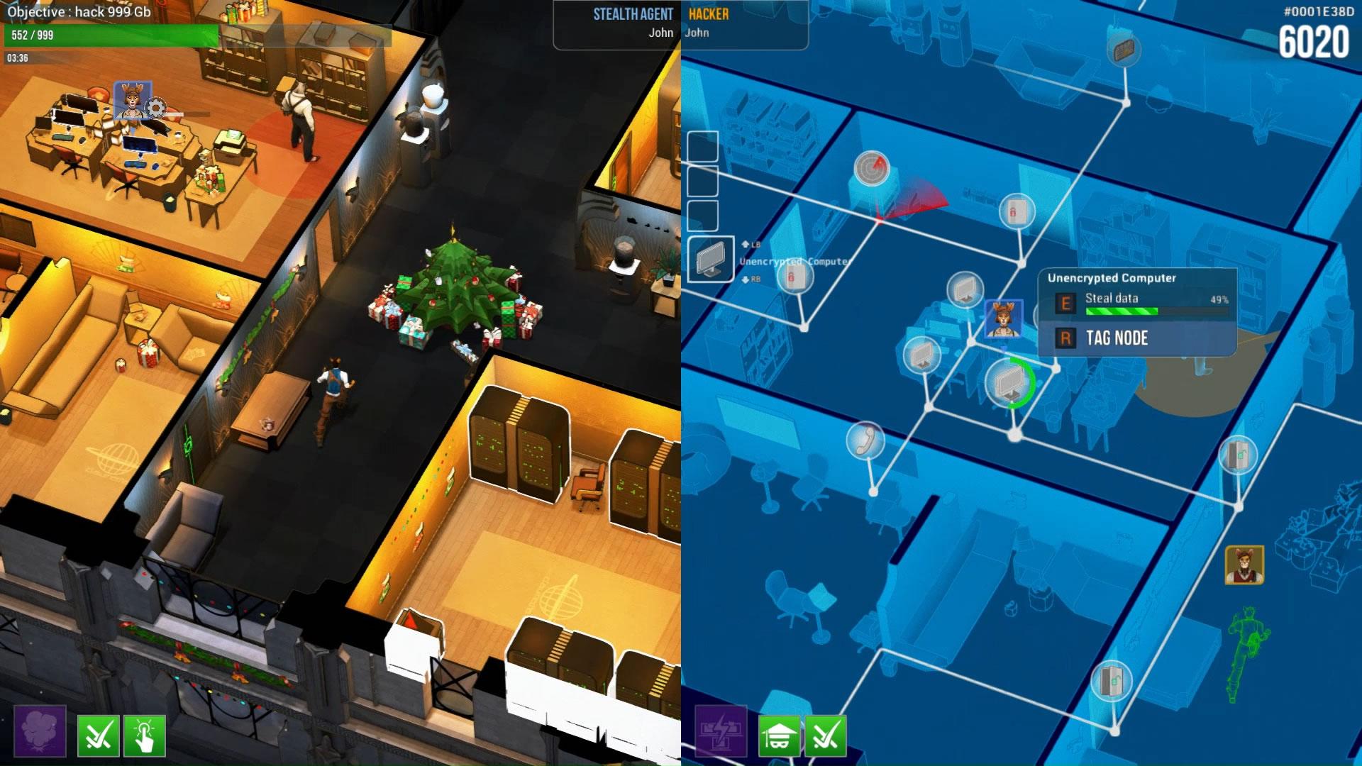 hacktag le jeu d 39 infiltration en duo annonce la fin de son acc s anticip pour f vrier. Black Bedroom Furniture Sets. Home Design Ideas