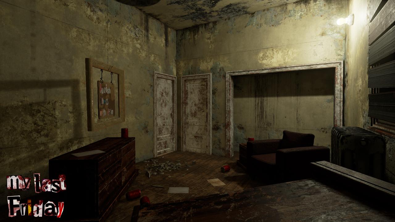 interieur maison horreur