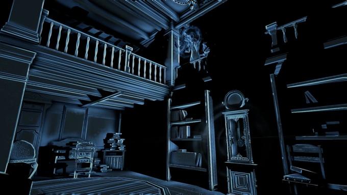 perception une non voyante dans une maison hant e. Black Bedroom Furniture Sets. Home Design Ideas