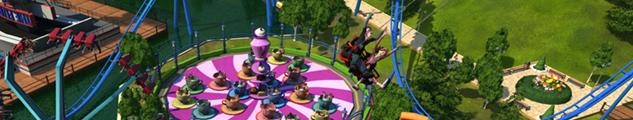 Attraction rollercoaster tycoon 3 U bémol sur le 10 commandement: Comme vous pouvez le voir sur rc3, la version basique de RCT3 ne possède pas les options de sauvegarde de décors avec l'attraction.