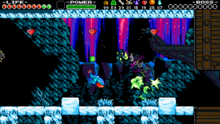 Shovel Knight : Plague of Shadows - Petite visite chez Polar Knight