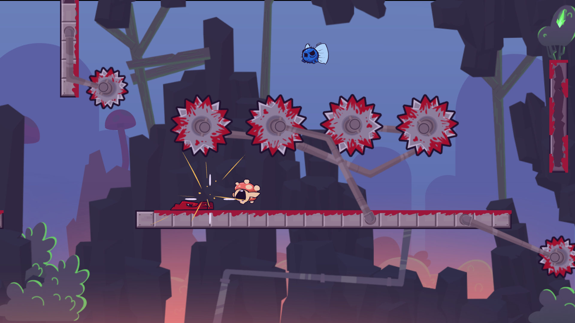 Super Meat Boy Forever is the sequel to Super Meat Boy! This is a new experience that eclipses the original. Don't stare directly at it unless you still have your eclipse glasses. This is a new experience that eclipses the original.