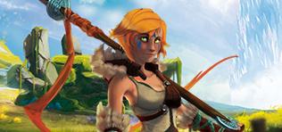Une viking qui ne combat pas